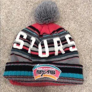 San Antonio Spurs knit hat